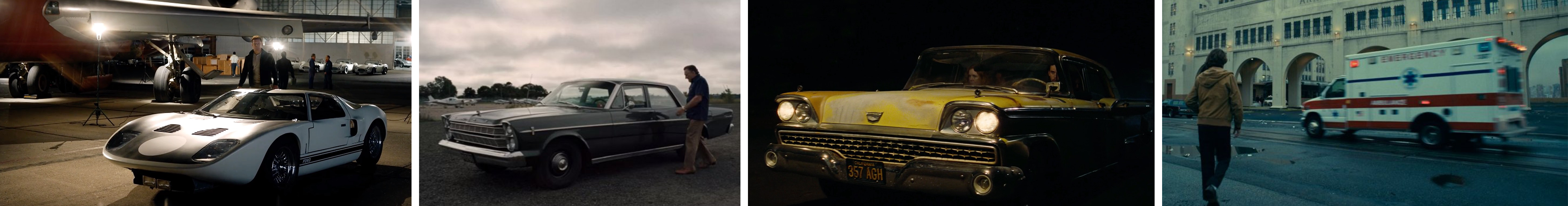 Ford, For V Ferrari, The irishman, once upon a time in hollywood, joker