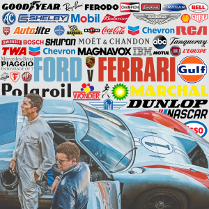 brands in FORD V FERRARI – product placement top 10