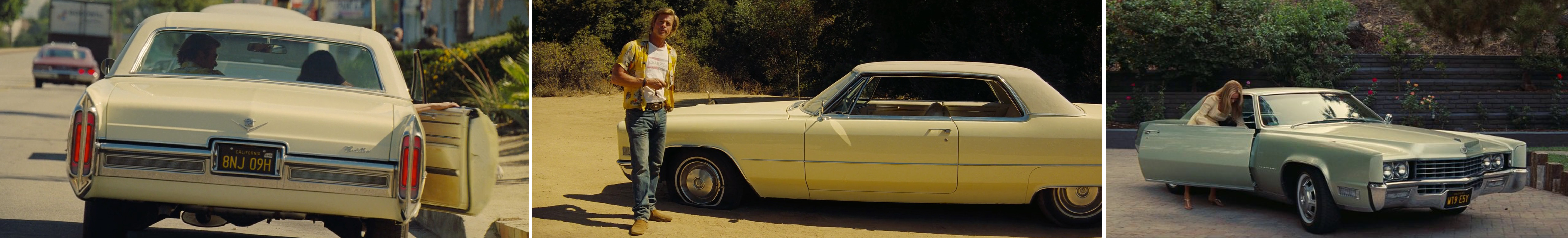 top 10 brands, product placement, brands, movies, entertainment marketing, branded integration, brand integration, integration marketing, analysis, valuation, metrics, measurement, once upon a time in hollywood, quentin tarantino, cadillac ,deville, 1966, brad pitt