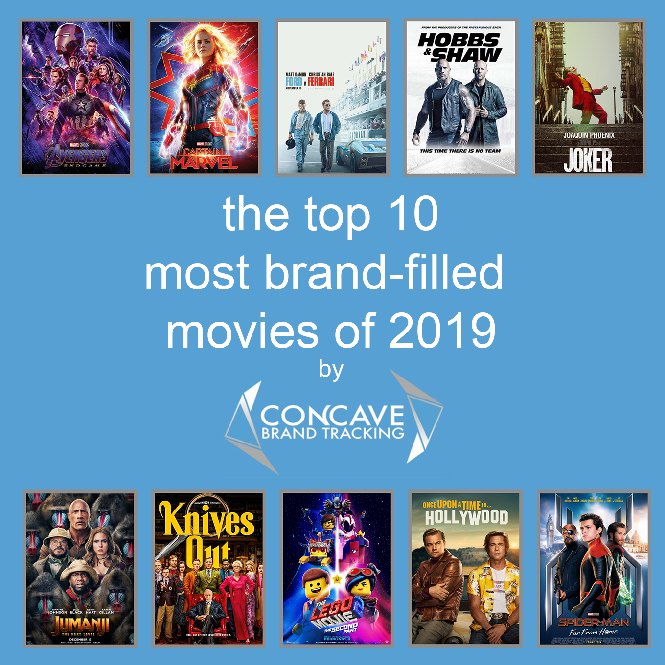 top 10 most product placement brand-filled movies of 2019