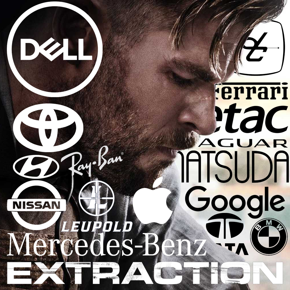 EXTRACTION stars Toyota, Casio, Google, Dell & more – product placement  top 10
