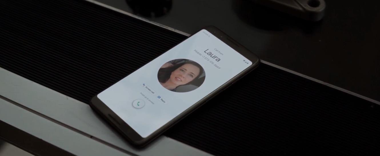 Google pixel phone in avengers endgame