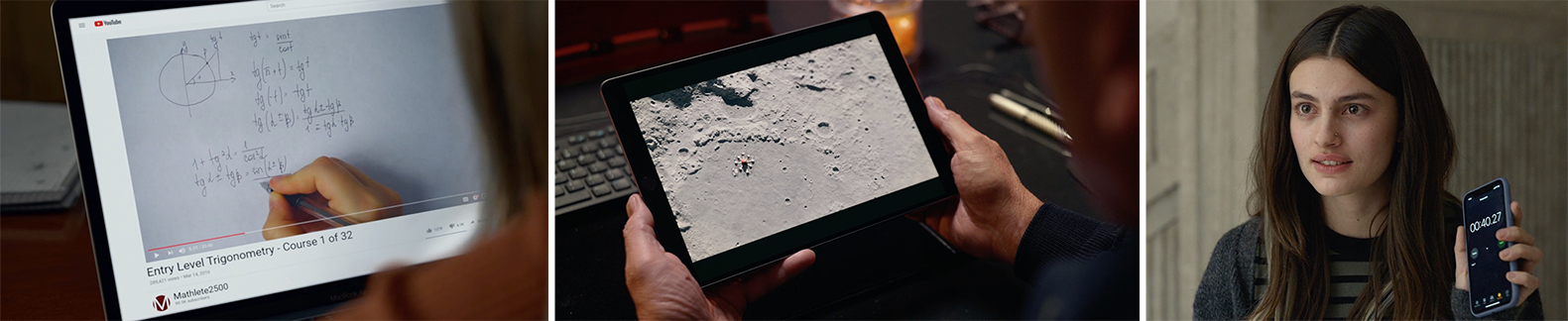 Apple product placement in Netflix's Space Force