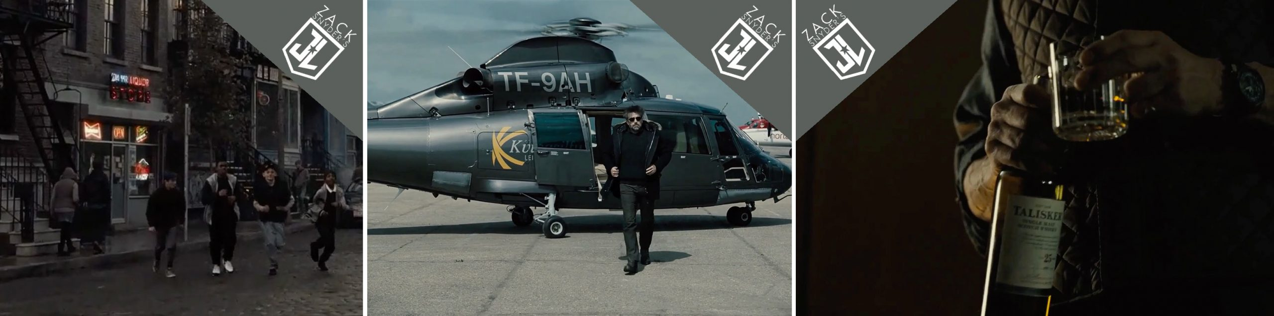 Budweiser, Coors, Eurocopter and Talisker product placements in Zack Snyder's Justice League