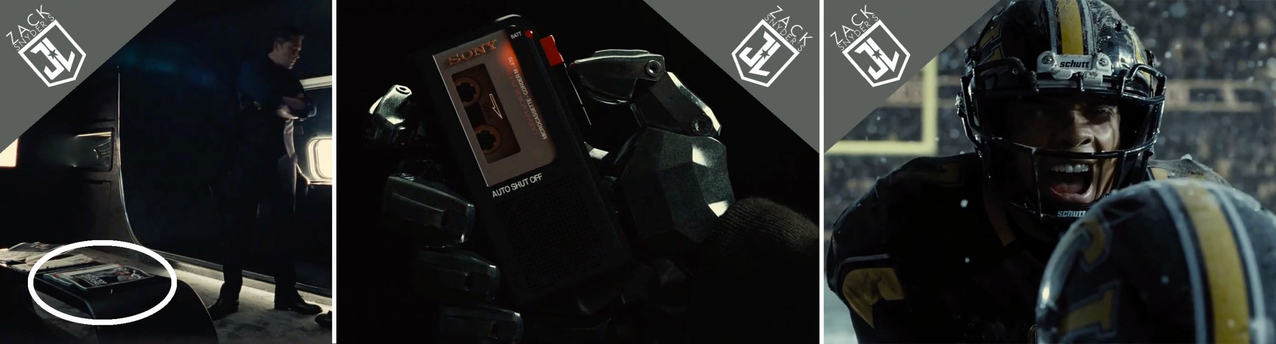 Fobres, Sony and Schutt product placements in Zack Snyder's Justice League