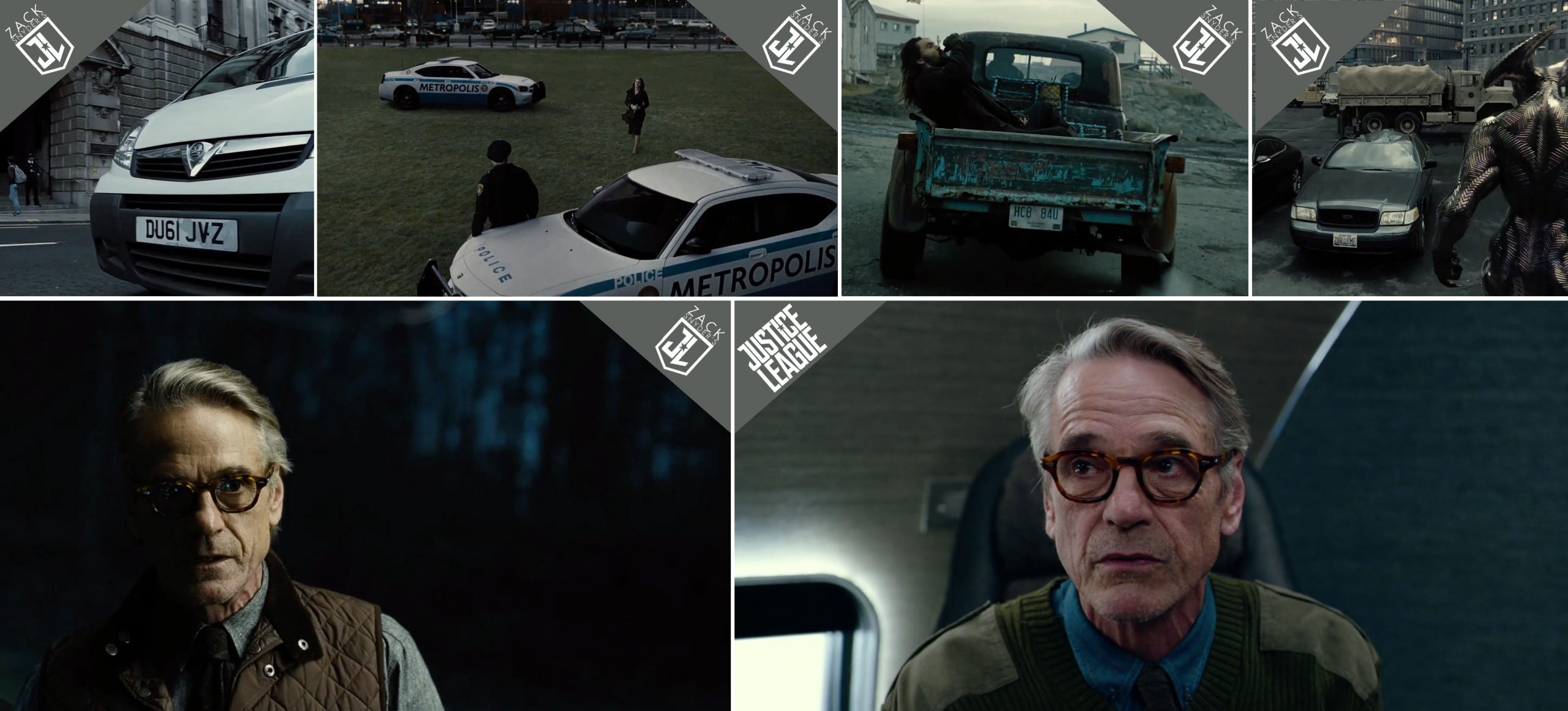 Vauxhall, Dodge, Chevrolet, Ford and Moscot product placements in Zack Snyder's Justice League