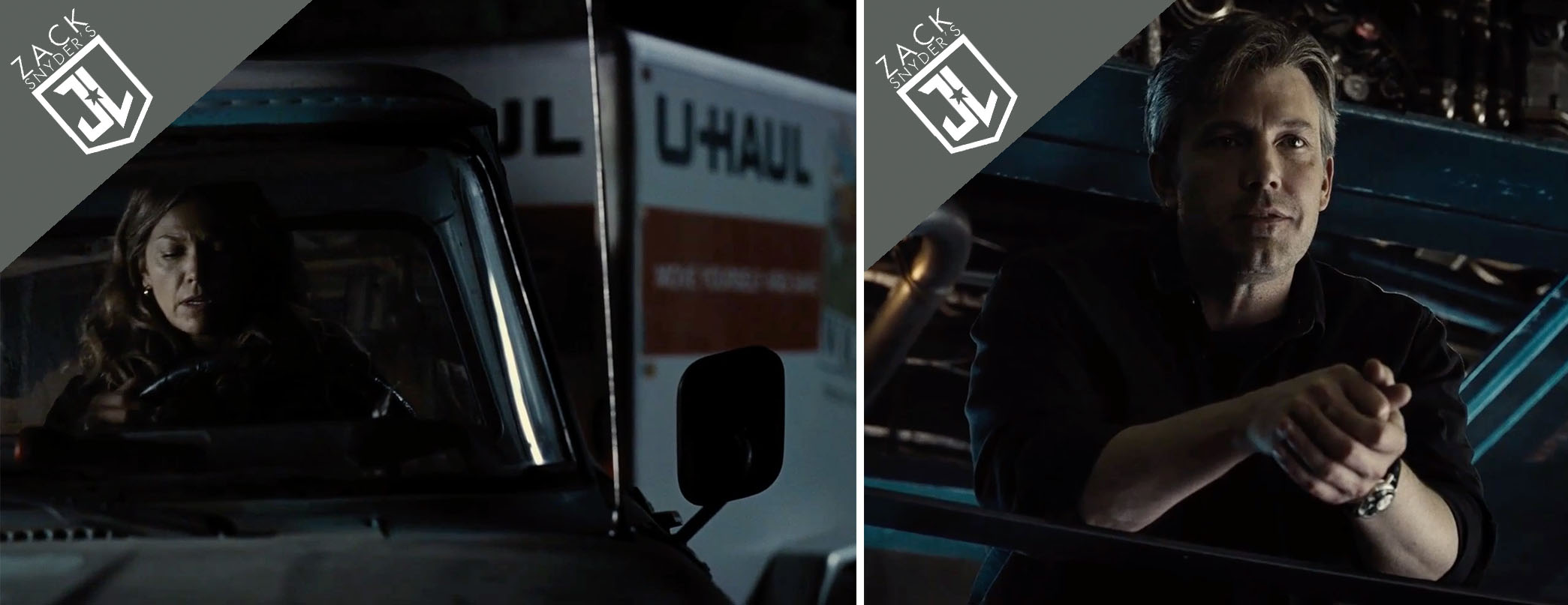 U-Haul and Breguet product placements in Zack Snyder's Justice League