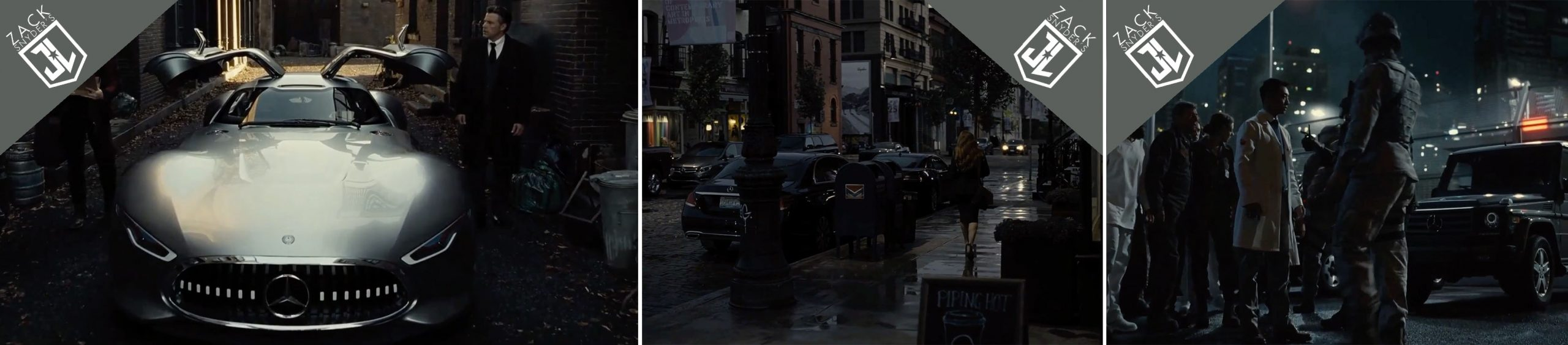 Mercedes-Benz product placements in Zack Snyder's Justice League