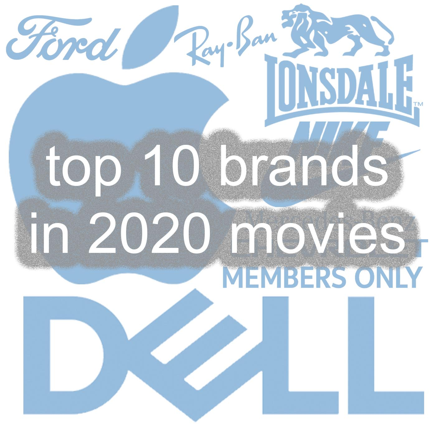 top 10 product placement brands in 2020 movies
