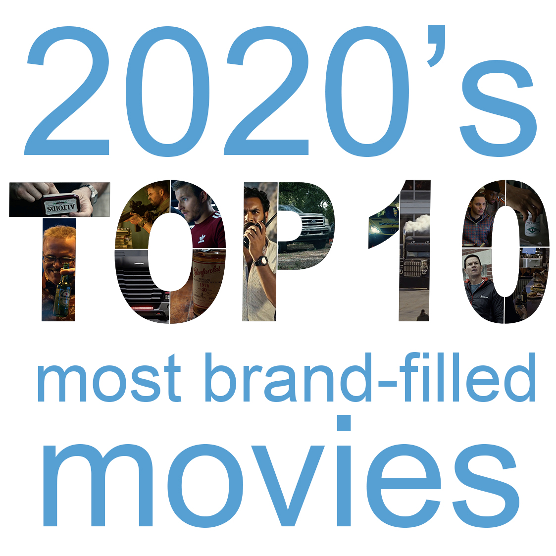 top 10 movies with the most product placement of 2020