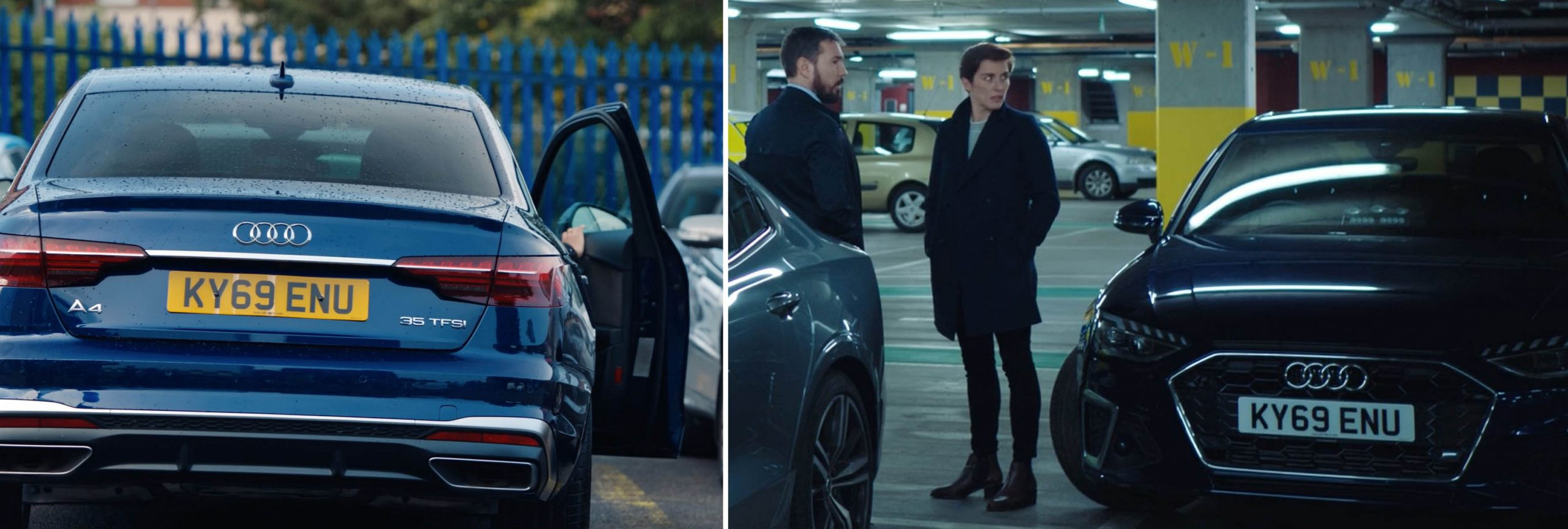 Audi product placement in season 6 of LINE OF DUTY