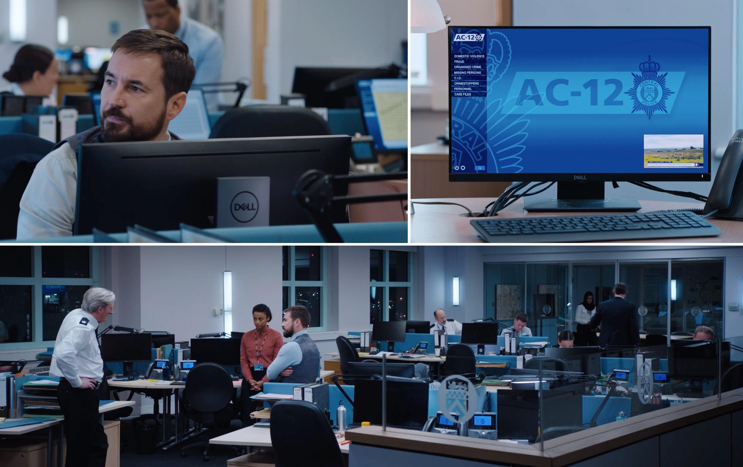 Dell product placement in season 6 of LINE OF DUTY