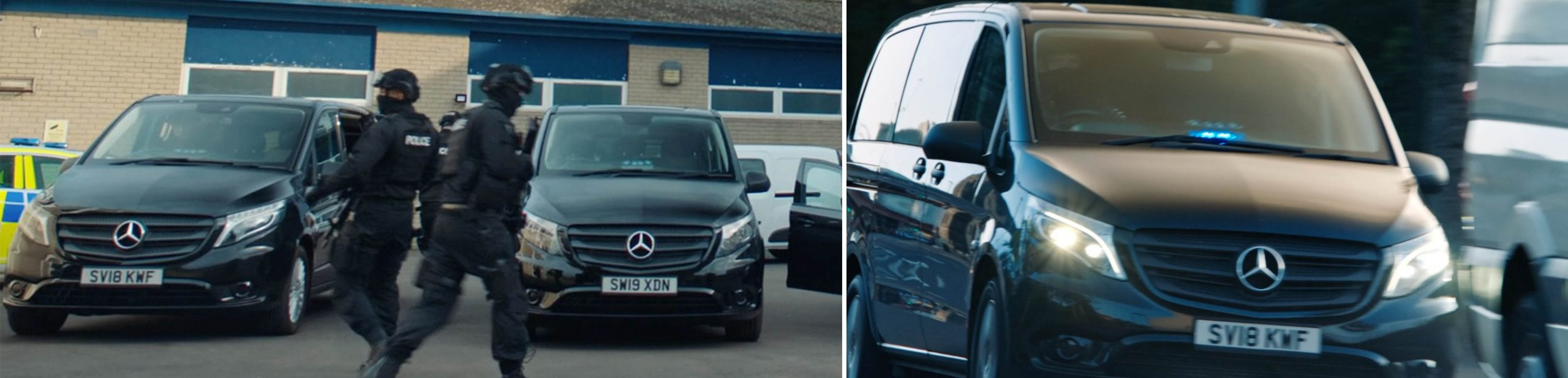 Mercedes-Benz product placement in season 6 of LINE OF DUTY