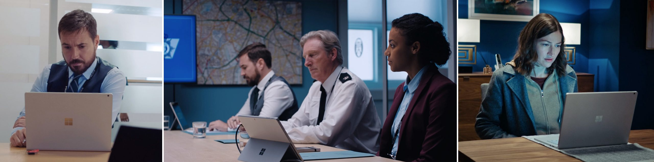 Microsoft product placement in season 6 of LINE OF DUTY