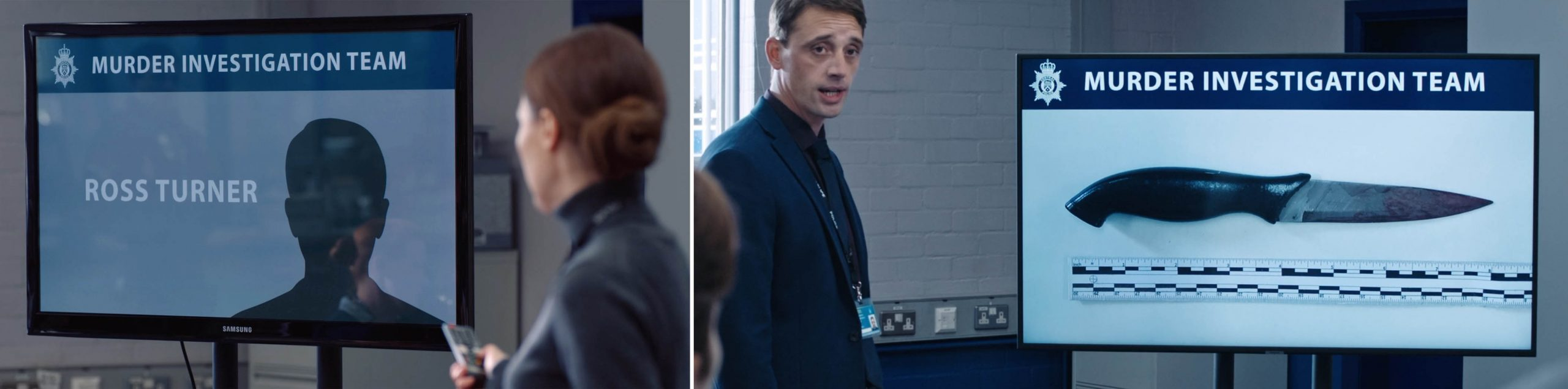 Samsung product placement in season 6 of LINE OF DUTY