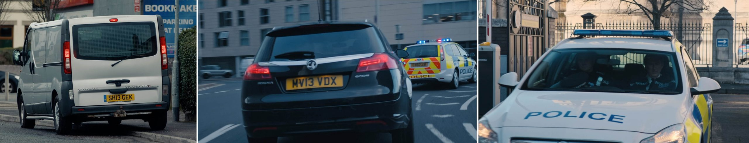 Vauxhall product placement in season 6 of LINE OF DUTY